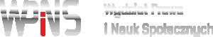 Wydział Prawa, Administracji i Zarządzania -Logo