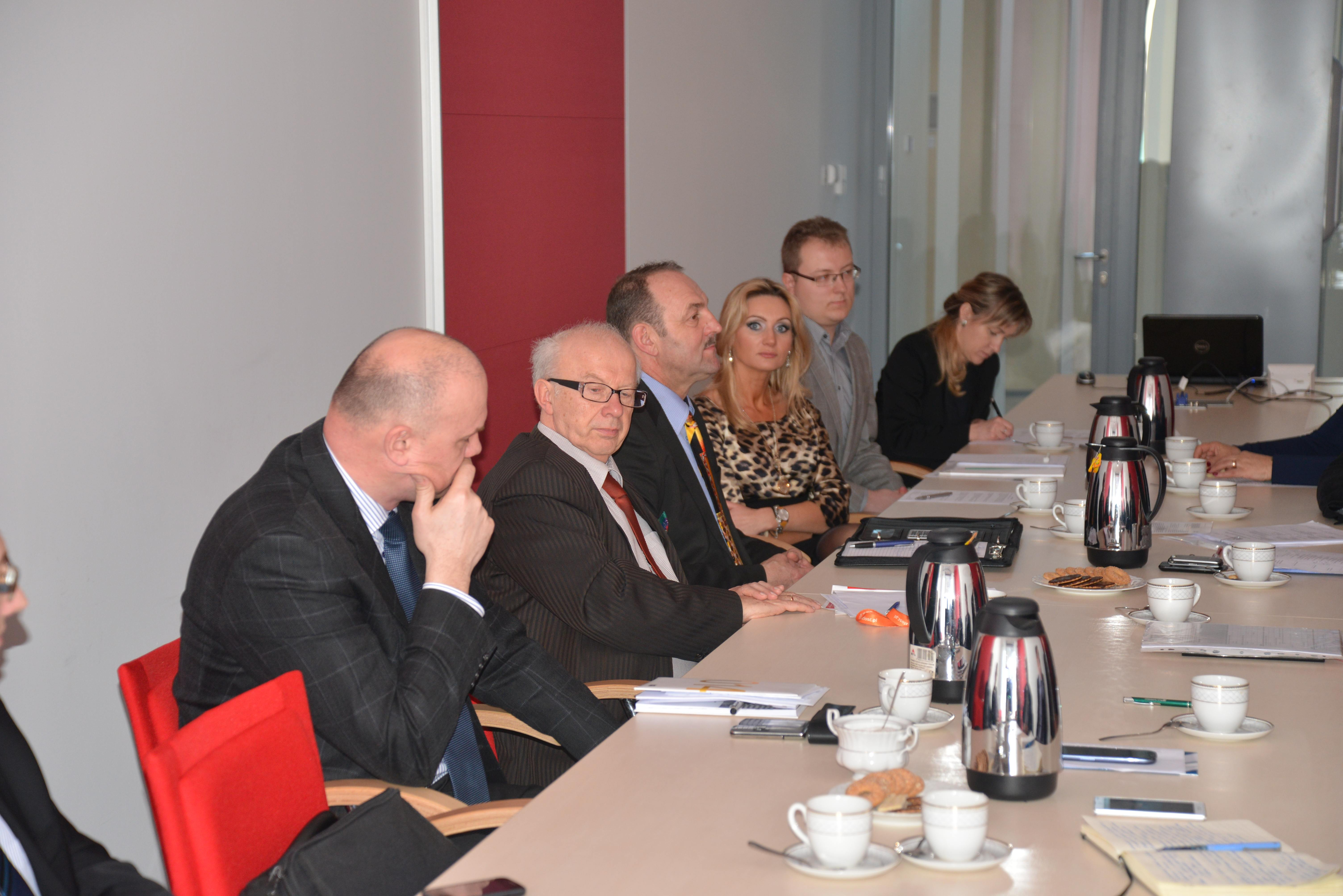 Spotkanie Rady Partnerów ds. Biznesu i Przedsiębiorczości Wydziału Zarządzania i Administracji Uniwersytetu Jana Kochanowskiego w Kielcach