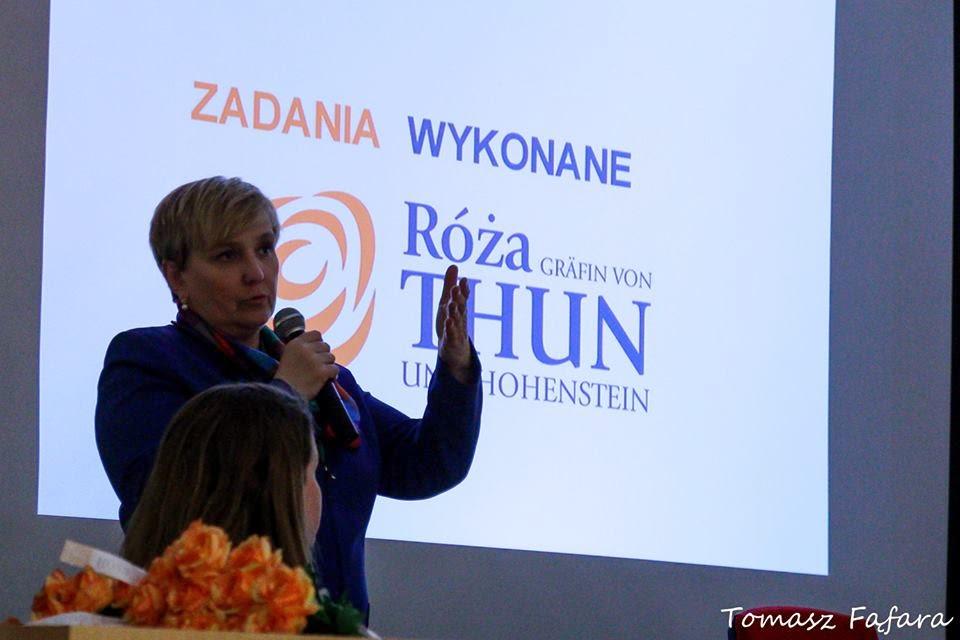 """Spotkanie z kandydatką do Parlamentu Europejskiego Panią Różą Gräfin von THUN UND HOHENSTEIN nt: """" EUROPOSEŁ-zawód czy powołanie?"""""""