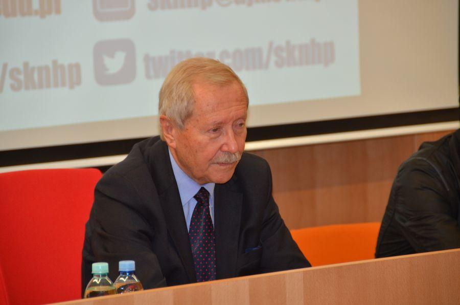 Spotkanie z doktorem Januszem Onyszkiewiczem