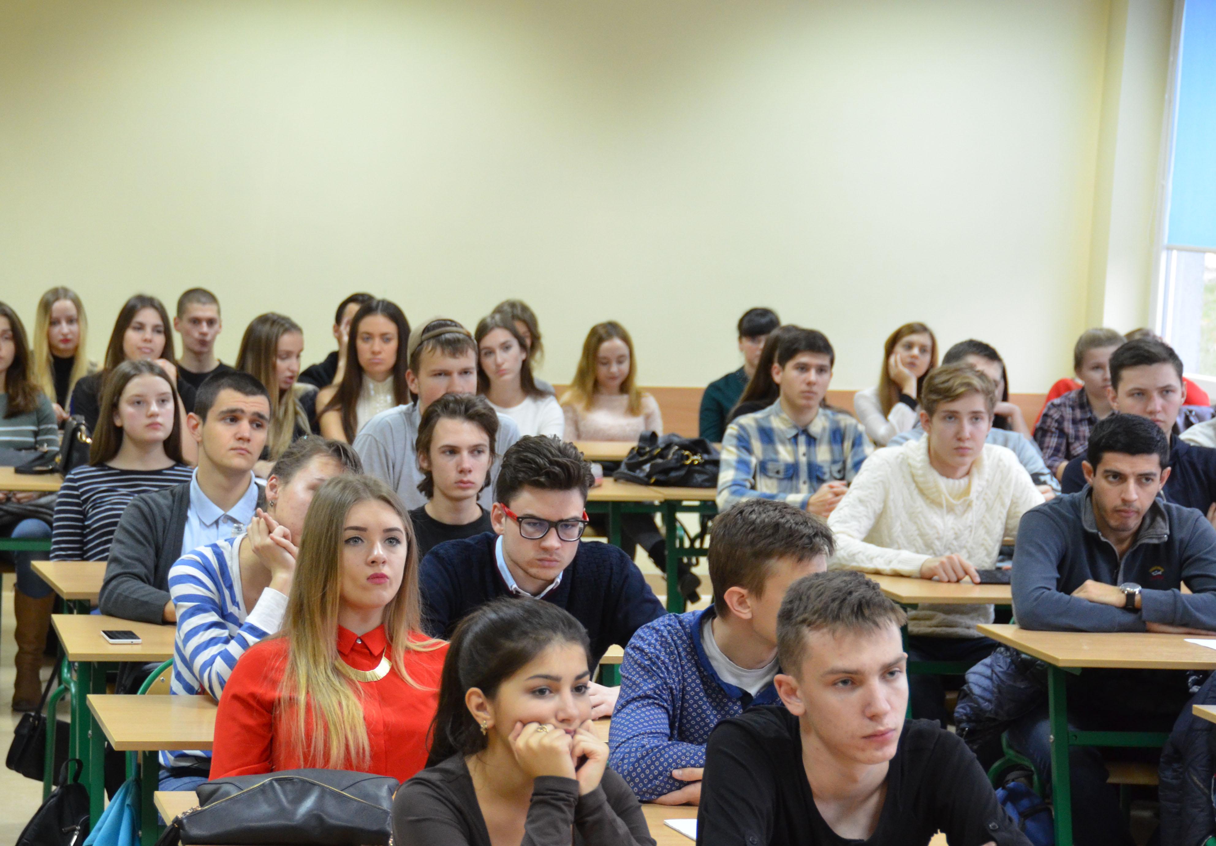 Spotkanie ze studentami obcokrajowcami